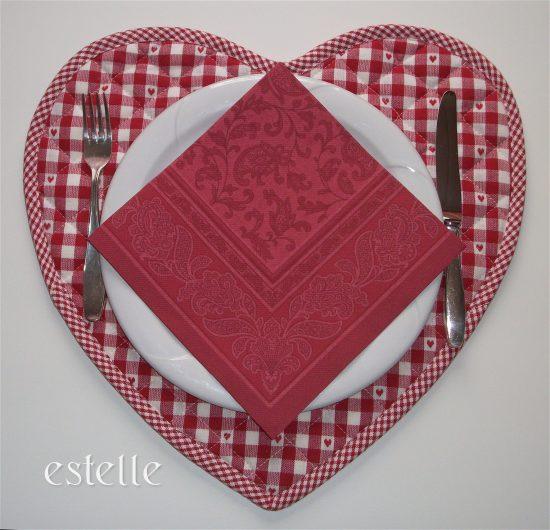 Bordstablett - Hjärta